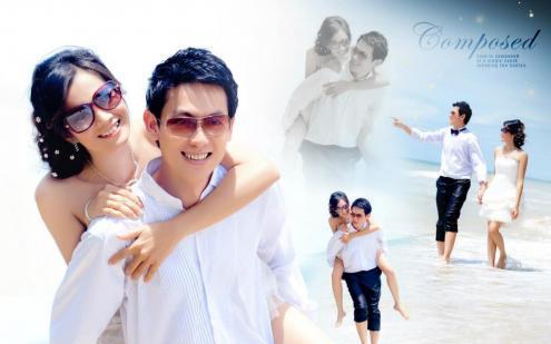 ภาพ Pre-wedding คุณจิและคุณอู้ด